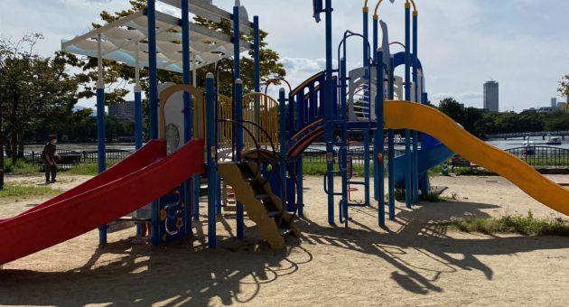 大濠公園内にある「くじら公園」の魅力を『ママ目線』で探ってみました!