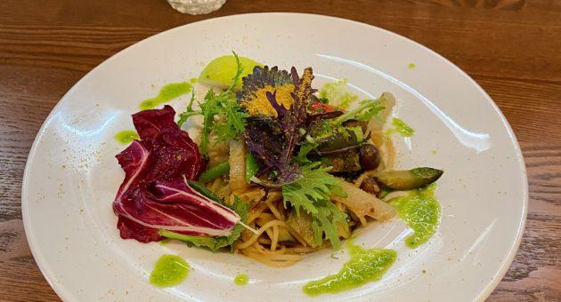 お野菜たっぷりで彩鮮やかなランチを別府のフレンチ「シェモア」で。